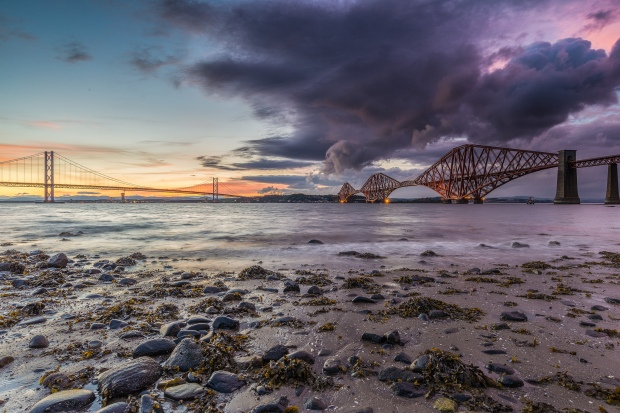'Face Over The Forth' by Chris Combe, via Flickr.