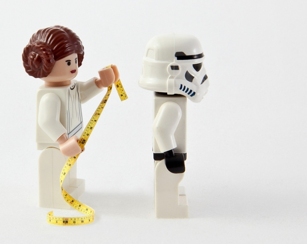 'Aren't You a Little Short for a Storm Trooper?' by Camille Rose, via Flickr.