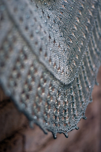 Candlelit Shawl by Helen Stewart. Image Copyright Helen Stewart.