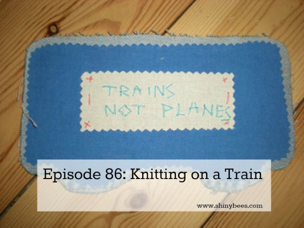 Train carriage to add to the bunting train, by the Craftivist Collective, via Flickr