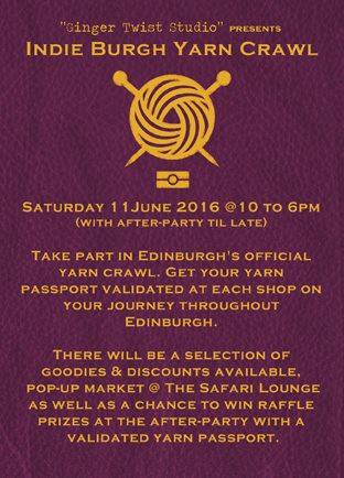 REVISED Yarn Crawl Passport FRONT