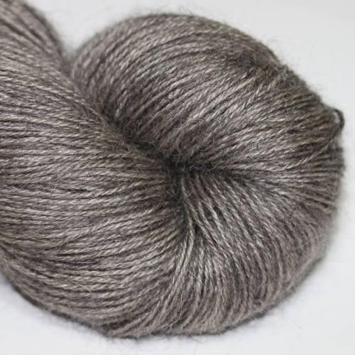 The Knitting Goddess Totally British 4ply in 'Gunmetal'.